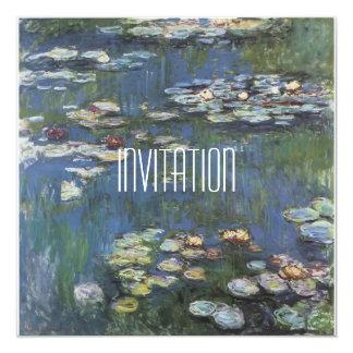 Art Monet Classic Invitation