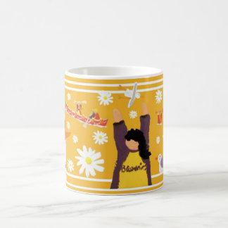 Art Mug: Guides 100 Centenary Mug. Yellow Basic White Mug
