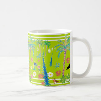 Art Mug: Tresco Abbey Garden Coffee Mug