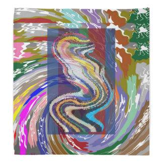 "Art NAVIN BANDANA 19"" Sq  www.zazzle.com/doonagiri"