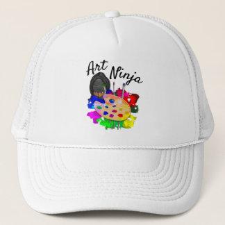 Art Ninja Trucker Hat