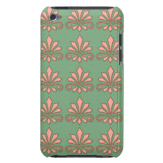 Art Nouveau Abstract Floral Barely There iPod Cases