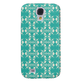 Art Nouveau Abstract Floral Galaxy S4 Cover