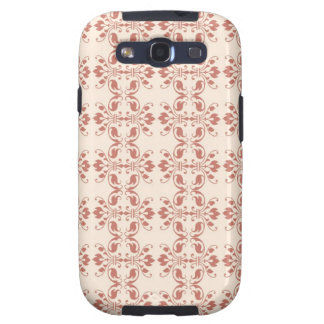 Art Nouveau Abstract Floral Galaxy SIII Cases