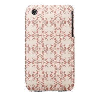 Art Nouveau Abstract Floral iPhone 3 Cases