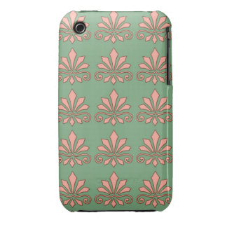 Art Nouveau Abstract Floral iPhone 3 Cover