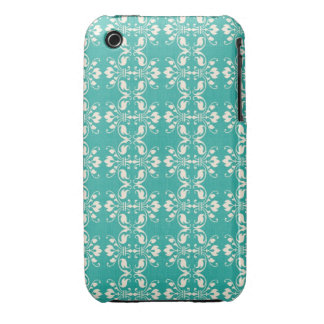 Art Nouveau Abstract Floral iPhone 3 Covers