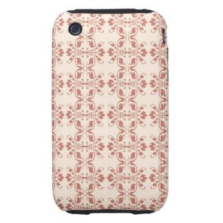 Art Nouveau Abstract Floral iPhone 3 Tough Covers