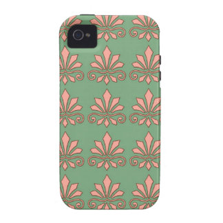 Art Nouveau Abstract Floral iPhone 4/4S Cases