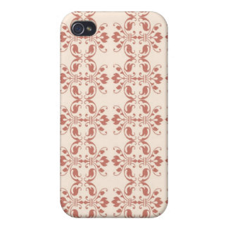 Art Nouveau Abstract Floral iPhone 4/4S Cover