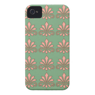 Art Nouveau Abstract Floral iPhone 4 Cases