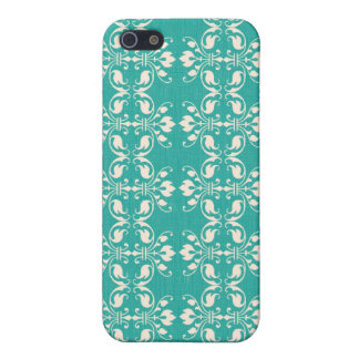 Art Nouveau Abstract Floral iPhone 5/5S Cover
