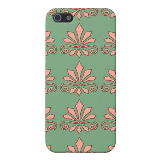Art Nouveau Abstract Floral iPhone 5 Cases