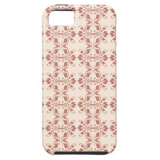 Art Nouveau Abstract Floral Tough iPhone 5 Case