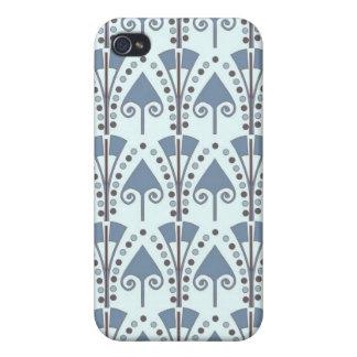 Art Nouveau Abstract Motif iPhone 4 Case
