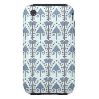 Art Nouveau Abstract Motif Tough iPhone 3 Cases