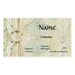 art nouveau abstract ornate pattern pack of standard business cards