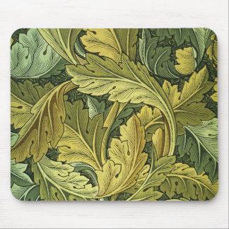 Art Nouveau Acanthus Leaf Mousepad
