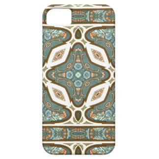 Art Nouveau Alphonse Mucha Vintage Feather iPhone 5 Cover