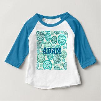 art Nouveau,art deco, vintage, multi wood colours, Baby T-Shirt