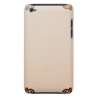 art nouveau, beige,brown,antique,belle époque, ele barely there iPod cover