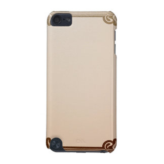 art nouveau, beige,brown,antique,belle époque, ele iPod touch (5th generation) case