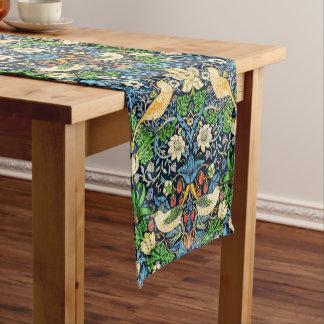 Art Nouveau Bird and Flower Tapestry Pattern Short Table Runner