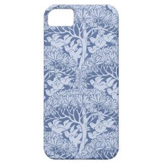 Art Nouveau Birds Trees Pattern iPhone 5 Case