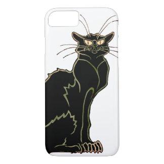 Art Nouveau Black Cat iPhone 8/7 Case
