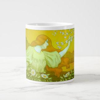 Art Nouveau Blossom Maiden Specialty Mug