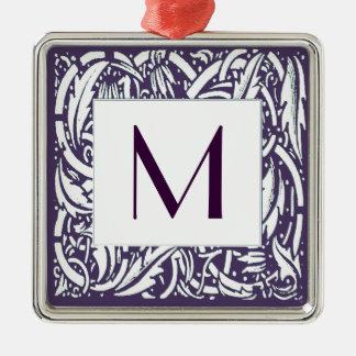 Art Nouveau Border Monogram Ornament