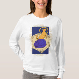 Art Nouveau box Cats T-Shirt