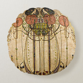 Art Nouveau Charles Mackintosh Wassail Cushions