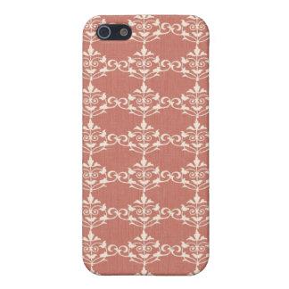 Art Nouveau Damask Floral Case For The iPhone 5