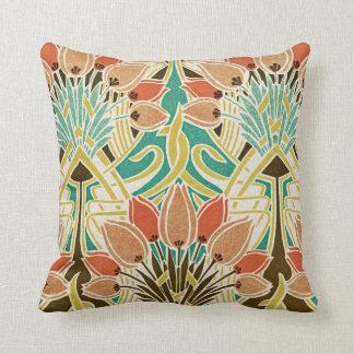 Art Nouveau Design #11 Throw Cushions