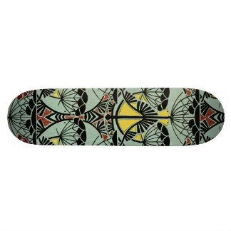 Art Nouveau Design #5 @ VictoriaShaylee Skateboard Deck