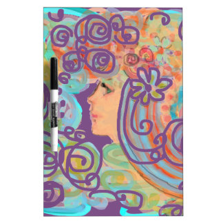 Art Nouveau Design Dry Erase Board