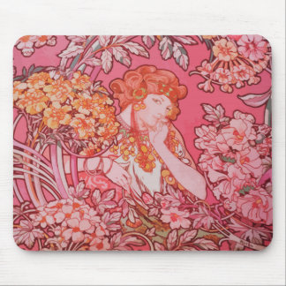 Art Nouveau design Mousepad