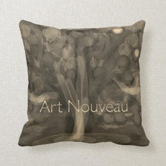 """""""Art Nouveau"""" design pillow"""