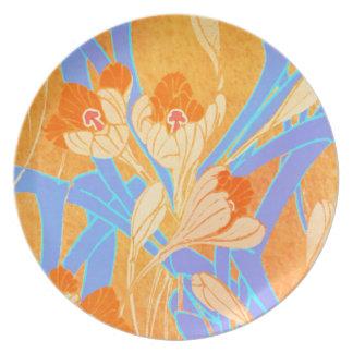 Art Nouveau Design Plate