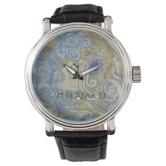 Art Nouveau Design Wristwatch