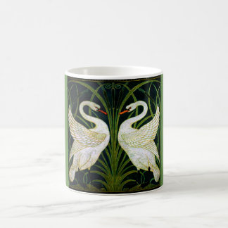 Art Nouveau Double Swan Classic Mug