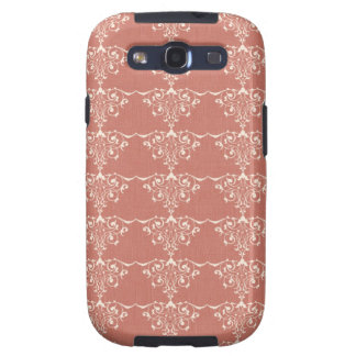 Art Nouveau Elegant Swirly Damask Galaxy S3 Cover