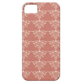 Art Nouveau Elegant Swirly Damask iPhone 5 Covers