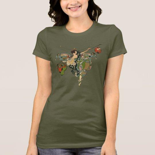 Art Nouveau Faerie - Ladies T-shirt