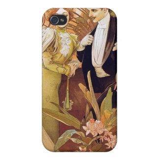 Art Nouveau Flirt iPhone 4/4S Cover