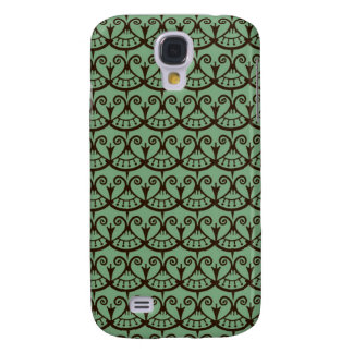Art Nouveau Floral Abstract Galaxy S4 Cases