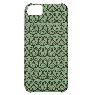Art Nouveau Floral Abstract iPhone 5C Cases