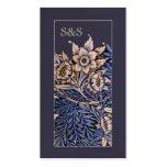 Art Nouveau Floral Business Card