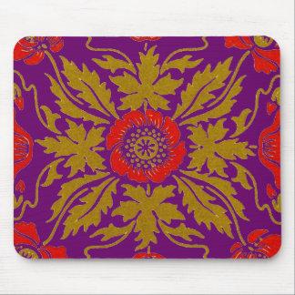 Art Nouveau floral design Mouse Pad